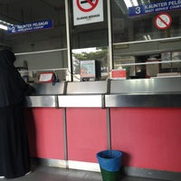 Photo taken at Pos Malaysia by Nur A. on 6/18/2016