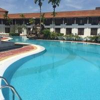 Photo taken at Impian Morib Hotel by Nur A. on 7/26/2017