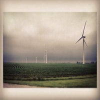 Photo taken at Meadow Lake Wind Farm by Edge Q. on 7/2/2013