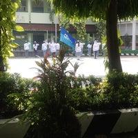 Photo taken at SMAN 61 Jakarta by irene p. on 6/13/2014