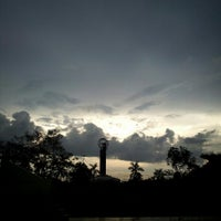Photo taken at Tugu Khatulistiwa by Ooc C. on 4/4/2013