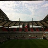 Photo taken at Seoul Worldcup Stadium by jo j. on 6/23/2013