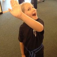 Photo taken at Mr. Emery's Karate Studio by Lili C. on 8/16/2013