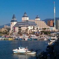Photo taken at Fullon Hotel Danshuei Fishermen's Wharf by Eric C. on 10/20/2012