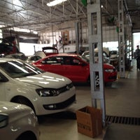 Photo taken at Volkswagen Calicut by Arun P. on 1/9/2014