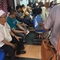 Photo taken at Pejabat Tanah Daerah Gombak by Syukrail S. on 2/1/2017