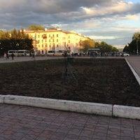 Photo taken at Площадь Юности by Алексей Т. on 5/20/2017