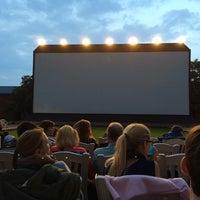 Photo taken at Open Air Kino by Torsten S. on 8/5/2014