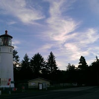Photo taken at Umpqua Lighthouse State Park by Jeremiah O. on 1/2/2013