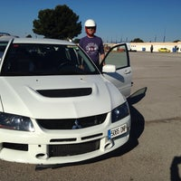 Photo taken at Circuit De Calafat by Autoescuela R. on 5/4/2014