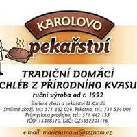 Photo taken at Smíšené zboží a pekařství U Karolů by Barbora M. on 10/22/2013
