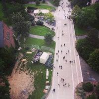 Photo taken at Cornell Chimes by Sandra V. on 8/29/2014