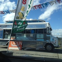 Photo taken at Mi Virgencita Taqueria Taco Truck by Wesley C. on 9/21/2013