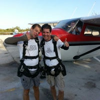 Photo taken at Skydive Key West by Michael Y. on 3/10/2013