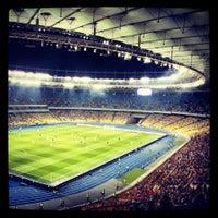 Photo taken at Olimpiyskiy Stadium by Vladislav M. on 7/3/2013