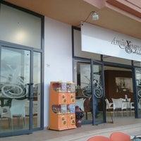 Photo taken at Playa Puerto Rey by Gredos D. on 7/8/2014