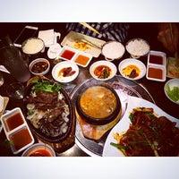 Photo taken at Don's Bogam Korean BBQ & Wine by Josephine S. on 11/2/2014