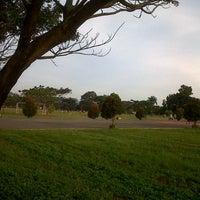 Photo taken at Lapangan Rampal by Arie S. on 7/28/2013