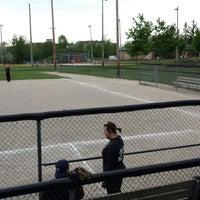 Photo taken at Waterloo Park - Baseball Diamond 2 by Tyler on 6/5/2013