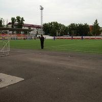 Photo taken at стадион Юбилейный by Артем Ж. on 6/4/2013