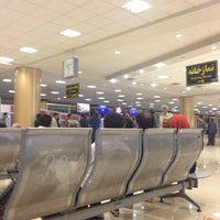 Photo taken at Mashhad International Airport (MHD) by Navid N. on 10/7/2013