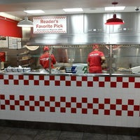 Photo taken at Five Guys by Iggy on 8/10/2013