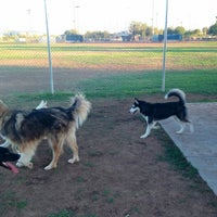 Photo taken at Foothills Dog Park and Dog Run by Balto W. on 6/11/2013
