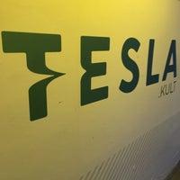 Photo taken at Tesla by marka b. on 11/16/2017