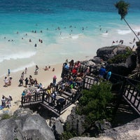 Photo taken at Tulum Archeological Site by Richards R. on 7/19/2013