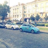 Photo taken at Vokiečių gatvė by Vytautas J. on 7/28/2013