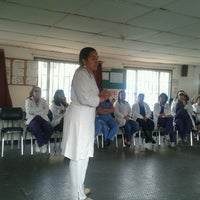 8/30/2013 tarihinde Catalina R.ziyaretçi tarafından Centro de Rehabilitación para Adultos Ciegos-CRAC'de çekilen fotoğraf