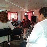 Photo taken at Centro de Rehabilitación para Adultos Ciegos-CRAC by Catalina R. on 7/12/2013