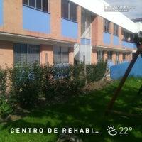 Photo taken at Centro de Rehabilitación para Adultos Ciegos-CRAC by Catalina R. on 5/5/2014