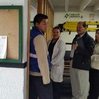Photo taken at Centro de Rehabilitación para Adultos Ciegos-CRAC by Catalina R. on 3/9/2015