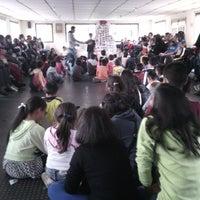 Photo taken at Centro de Rehabilitación para Adultos Ciegos-CRAC by Catalina R. on 12/13/2014