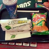 Photo taken at Subway by Misael  👌 G. on 8/1/2014