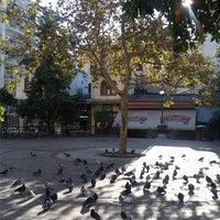 Photo taken at Athonos Square by Natasha M. on 12/6/2013