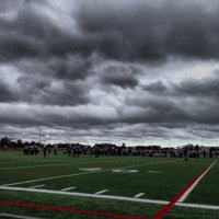 Photo taken at YMCA South Football Field by Jason R. on 9/28/2013