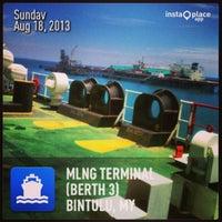 Photo taken at MLNG Terminal (Berth 3) by mie z. on 8/19/2013