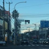 Photo taken at 産業道路入口交差点 by shee ロ. on 12/17/2016
