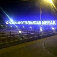Photo taken at Pelabuhan Merak by Handinata J. on 5/3/2013