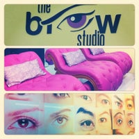 Photo taken at The Brow Studio by Pamzylala R. on 10/17/2012
