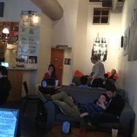 Photo taken at Halcyon Coffee, Bar & Lounge by Michael W. on 12/29/2012