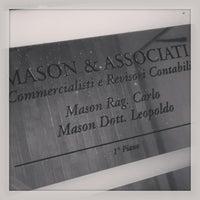 Photo taken at MASON & ASSOCIATI - Commercialisti by Leopoldo P. on 8/30/2013