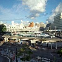 Photo taken at 那覇バスターミナル by miyalavie on 8/8/2013
