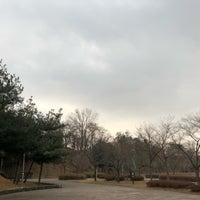 Photo taken at 안산호수공원 by Joseph on 1/20/2018