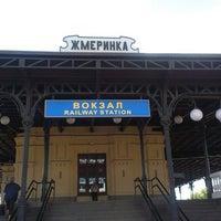 Photo taken at Залізнична станція «Жмеринка» by Larisa V. on 7/20/2013