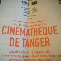 Photo taken at Cinémathèque de Tanger - Cinéma Rif by Abdelkrim A. on 7/6/2013