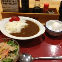 Photo taken at 厚木恩名食堂 by Takaya M. on 7/19/2013