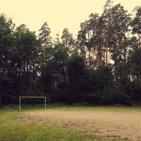Photo taken at Футбольное Поле В Лесу by Юлия С. on 7/14/2013